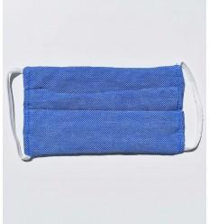 Masque de protection pour enfant bleu