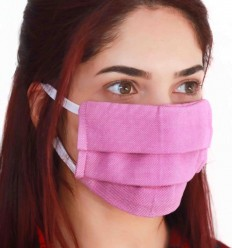 Masque de protection pourpre clair