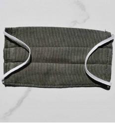 Masque de protection vert militaire