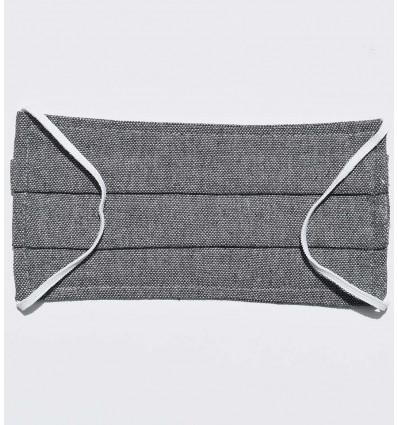 Masque de protection gris ardoise