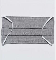 Masque de protection gris chiné