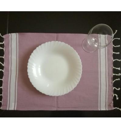 Mini fouta plate violet clair