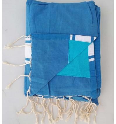 éponge bleu azur