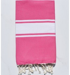 Fouta plate rose chewing-gum