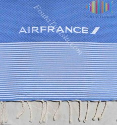 Fouta brodée AIR FRANCE