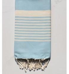 Fouta arthur bleu azurin