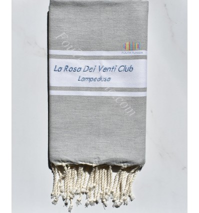 Fouta brodée La Rosa Dei Venti Club LAMPEDUSA