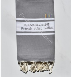 Fouta broderie GUADELOUPE