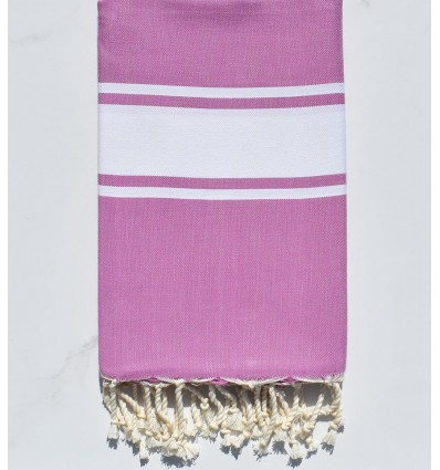 Fouta Plate parme
