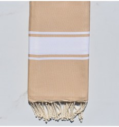 Fouta Plate beige sable
