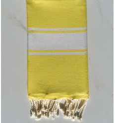 Fouta Plate jaune