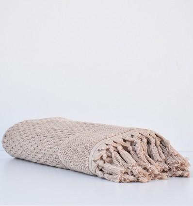 Serviette de bain  HAMILCAR beige foncé