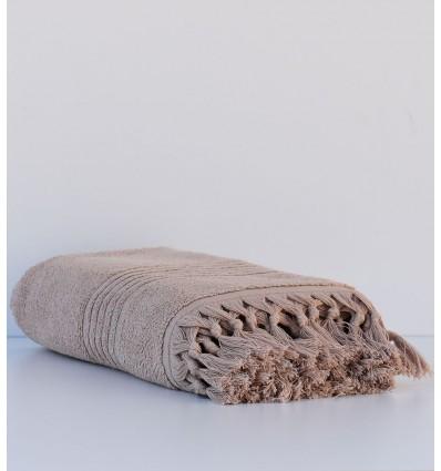 Serviette de bain  HANNIBAL beige foncé