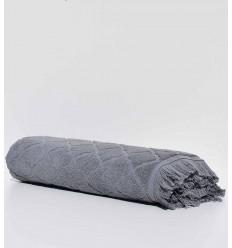 Drap de bain Elyssa gris