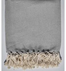 plaid gris clair