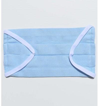 Masque de protection bleu ciel