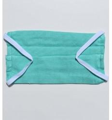 Masque de protection vert turquoise
