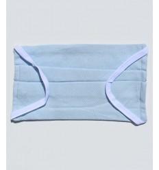 Masque de protection bleu clair