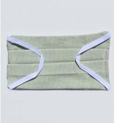 Masque de protection vert lichen